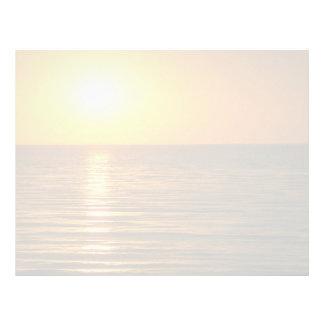 Beautiful Sunset: Cardiff-By-The-Sea, California Letterhead