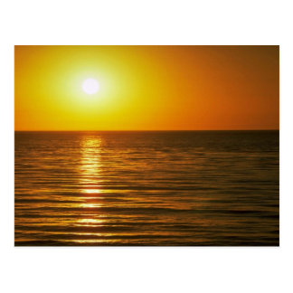 Beautiful Sunset: Cardiff-By-The-Sea, California Postcard