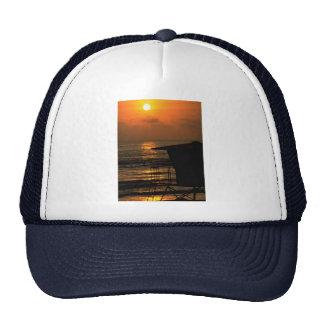 Beautiful Sunset Carlsbad California Mesh Hat