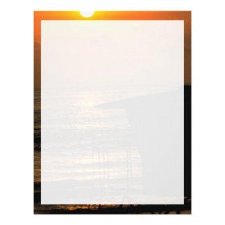 Beautiful Sunset: Carlsbad, California Letterhead