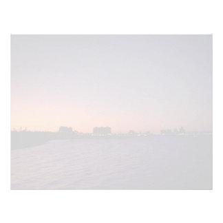 Beautiful Sunset: Corpus Christi, twighlight, Texa Letterhead