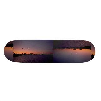 Beautiful Sunset: Corpus Christi, twighlight, Texa Skate Board
