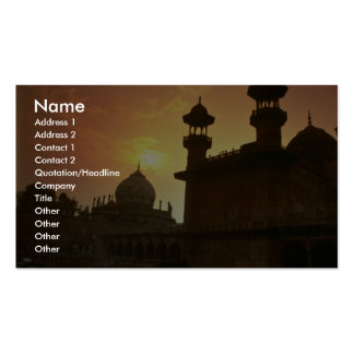 Beautiful Sunset: Delhi, India Business Cards