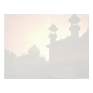 Beautiful Sunset: Delhi, India Letterhead