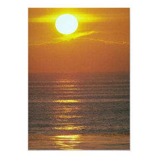 Beautiful Sunset: Encintas, California Invitations