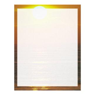 Beautiful Sunset: Encintas, California Letterhead