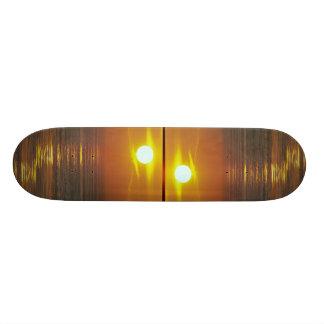 Beautiful Sunset: Encintas, California Skate Board Deck