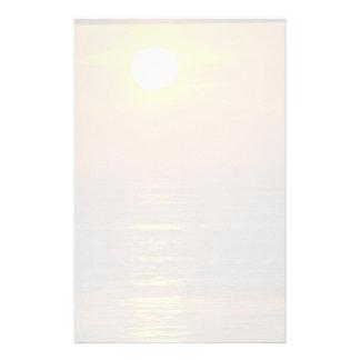 Beautiful Sunset: Encintas, California Stationery