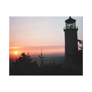 Beautiful Sunset Gallery Wrapped Canvas