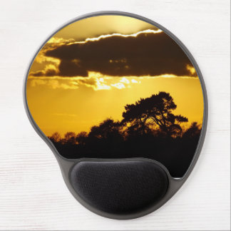 beautiful sunset gel mouse pads
