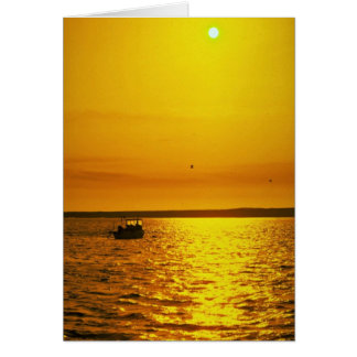 Beautiful Sunset: Hollster Ranch, Cojo Point, Cali Greeting Card