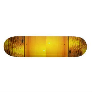 Beautiful Sunset: Hollster Ranch, Cojo Point, Cali Skateboard Deck