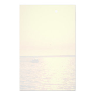 Beautiful Sunset: Hollster Ranch, Cojo Point, Cali Stationery