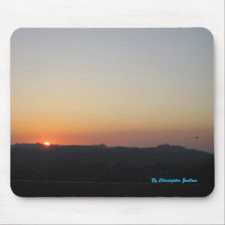 Beautiful Sunset in Los Angeles Mouse Pad