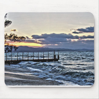 Beautiful Sunset in Montego Bay, Jamaica Mouse Pad