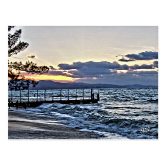 Beautiful Sunset in Montego Bay, Jamaica Postcard
