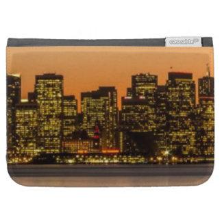 Beautiful sunset in San Francisco Kindle Keyboard Covers