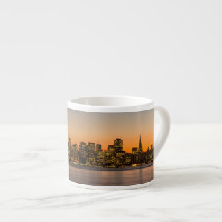 Beautiful sunset in San Francisco Espresso Cup
