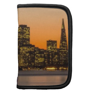 Beautiful sunset in San Francisco Folio Planners