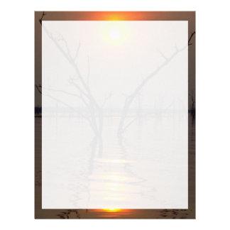 Beautiful Sunset: Kariba Sunset, Africa Letterhead