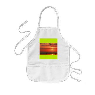 Beautiful sunset kids' apron