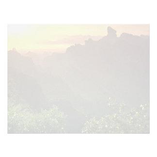Beautiful Sunset: Kwong Tung, Danha Mountain, Chin Letterhead