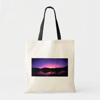Beautiful Sunset: Lake Mead, Nevada Tote Bags