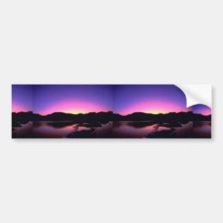 Beautiful Sunset: Lake Mead, Nevada Bumper Sticker