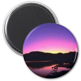 Beautiful Sunset: Lake Mead, Nevada Refrigerator Magnet