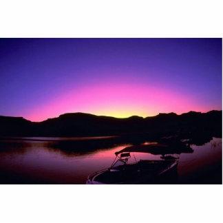 Beautiful Sunset: Lake Mead, Nevada Acrylic Cut Out