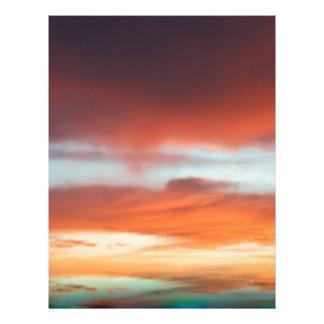 Beautiful Sunset Letterhead