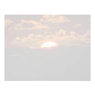 Beautiful Sunset: Maui, Hawaii Letterhead