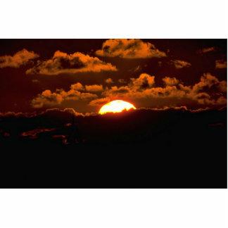 Beautiful Sunset: Maui, Hawaii Photo Cut Outs