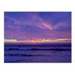 Beautiful Sunset: Mission Beach, San Diego, Califo Postcard