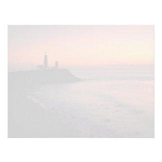 Beautiful Sunset: Montauk Point Light House, Long Letterhead