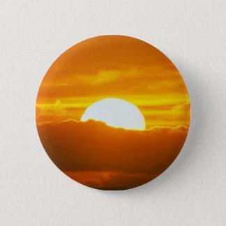 Beautiful Sunset: Moorea, outer reef pass, Tahiti Button