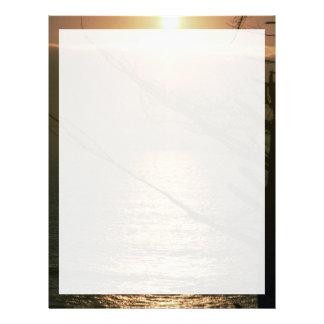 Beautiful Sunset: Ocean Beach, San Francisco, Cali Letterhead