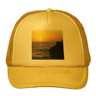 beautiful sunset on Bali island Trucker Hat