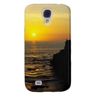 beautiful sunset on Bali island Samsung Galaxy S4 Cases