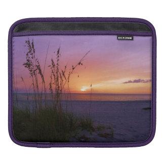Beautiful sunset on beach on Ipad Sleeve