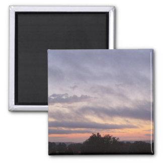 Beautiful Sunset over Kentucky Magnet
