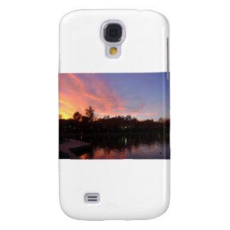 Beautiful Sunset Over Lake Galaxy S4 Covers