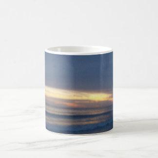 Beautiful Sunset over Water Magic Mug
