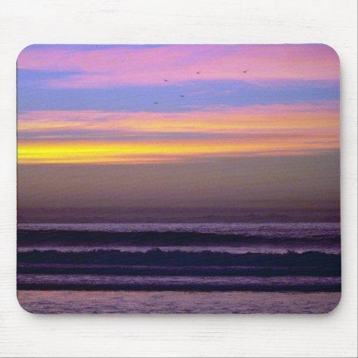 Beautiful Sunset: Pacific Beach, California Mouse Pad