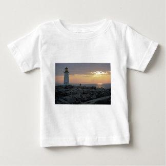 Beautiful Sunset: Peggy's Cove Light House, Nova S Shirts