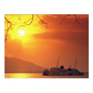 Beautiful Sunset: Penninsula de Nicoya, Costa Rica Postcard