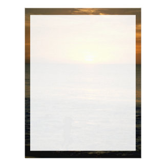 Beautiful Sunset: Perth, Australia Letterhead