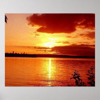 Beautiful Sunset photo by Teo Alfonso Poster