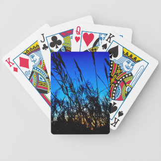 Beautiful Sunset Bicycle Playing Cards