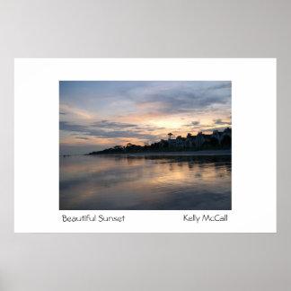 Beautiful Sunset Poster